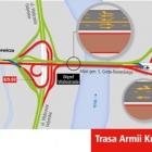 Przebudowa Trasy AK - utrudnienia na drogach